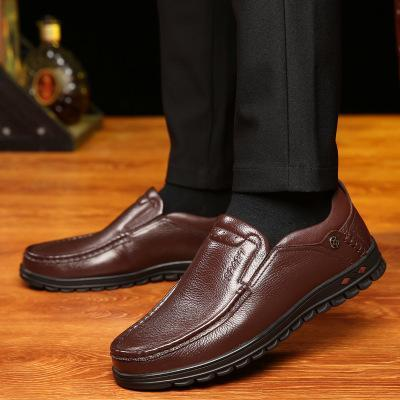 Mens Casual Business Shoes Outdoor Soft Sole Flats