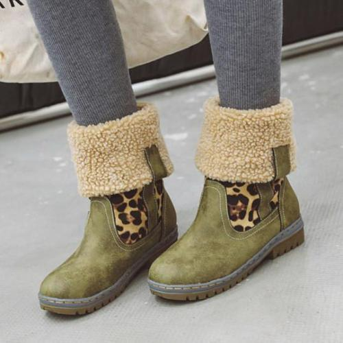 Flat Round Toe Date Outdoor Flat Boots