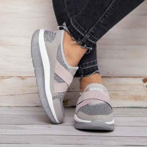 Shock Absorption Anti-Slip Elastic Band Sneakers