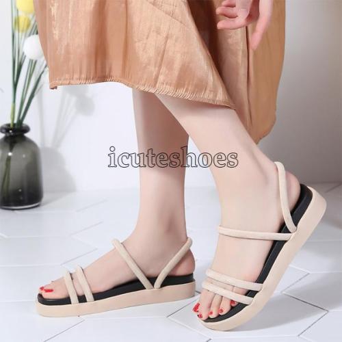 sandals black flat Sandals women flat Sandalias slippers ladies flat low heel