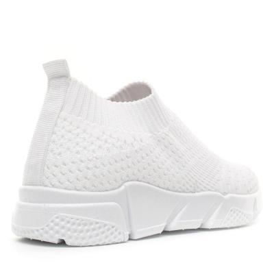 Women Solid All Season Elastic Cloth Sneaker