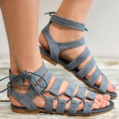 Women's Plus Size Flat Sandals