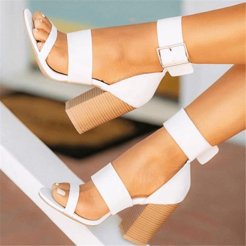 Fashion Versatile High Heel Sandals