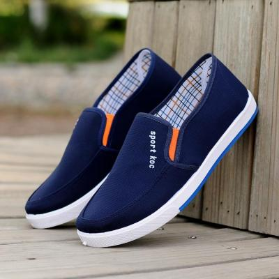 Casual Slip-on Loafers Canvas Flat Shoes