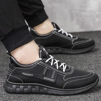 Mens Deconstruction Style Sneakers