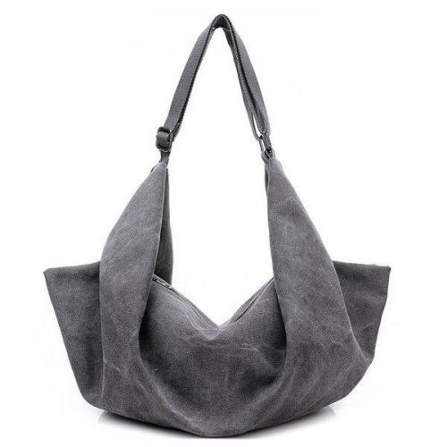 Dual-use Canvas Handbag Big Capacity Backpack Tribal Rucksack