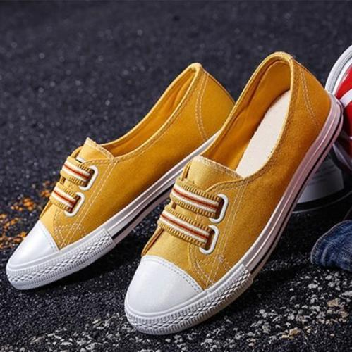 Color Block Flat Casual Sport Sneakers Daily Loafers