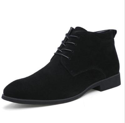 British Men's  Pointed Korean Casual  Martin Men Boots