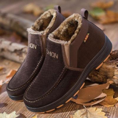 Thicker Warm Velvet Casual Slip on Shoes