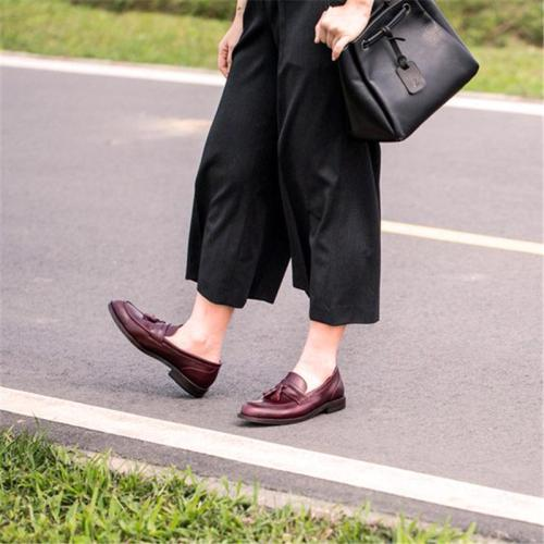 Spring comfortable tassel casual shoes