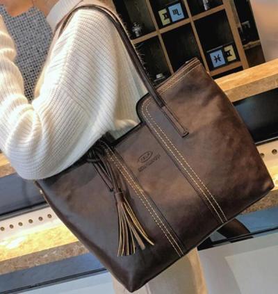 Vintage Tassel Casual Handbag Retro Leisure Shoulder Bag