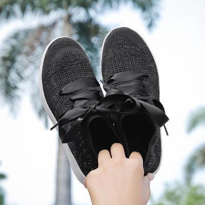 Women Breathable Mesh Ballet Flats Slip-on Sneakers