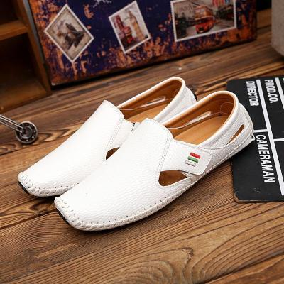Men's Casual Leather Slip On Shoes
