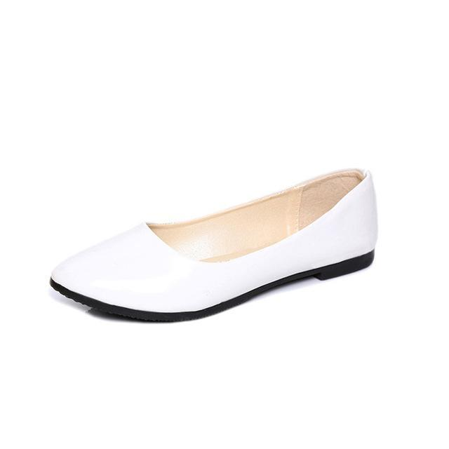 Ballet Flat Shoes Spring Single Cone Doug For women's Shoes