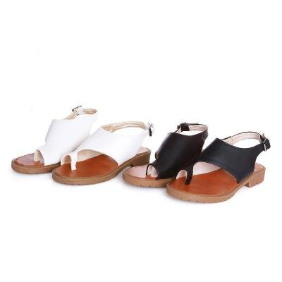 Simple Women Flip-flop Flat Casual Beach Sandals