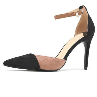 Stiletto Heel Adjustable Buckle Elegant Shoes