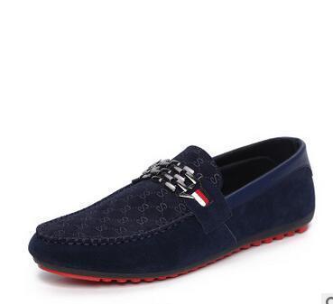 Men Black Loafer Trendy Shoes