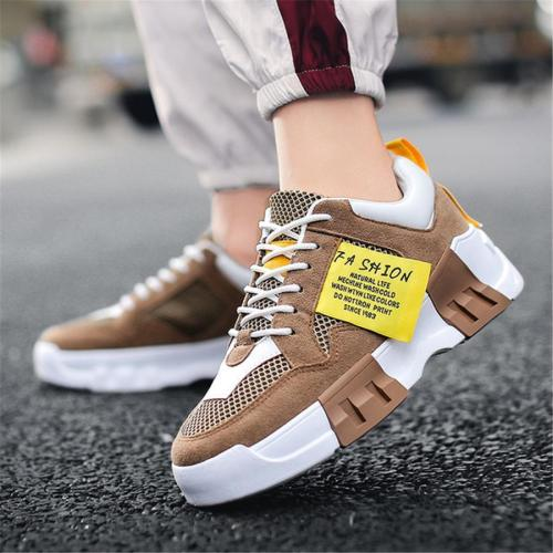 Men's platform breathable wild sneakers Sport shoes