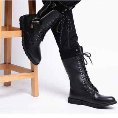 High boots, British fashion, increased Martin boots