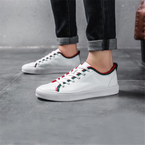 Men's low-cut lace-up casual shoes