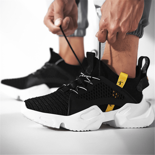 Fashion   Versatile Breathable Mesh Men's Sneakers