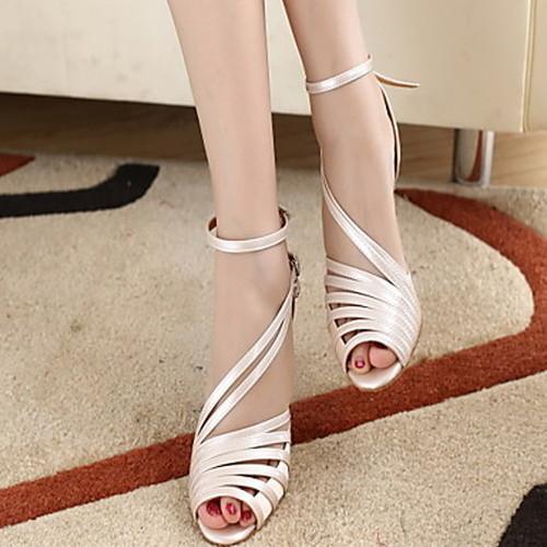 Women's  PU Leather 6cm High Heel  Latin Shoes