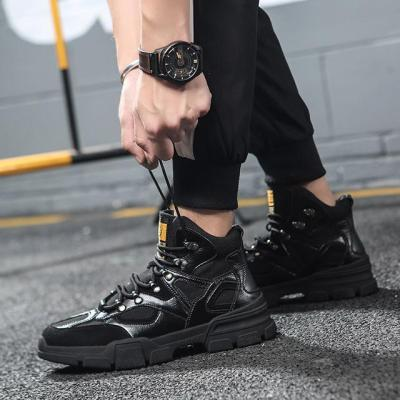 Korean version of the male hip-hop high-band sneakers casual high shoes
