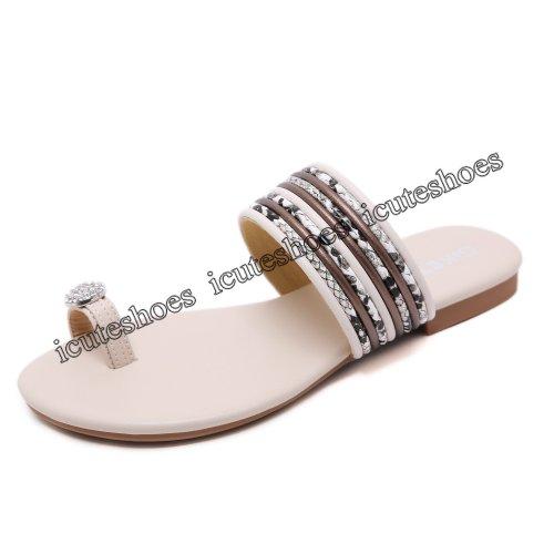 New women's sandals beach flat sandals