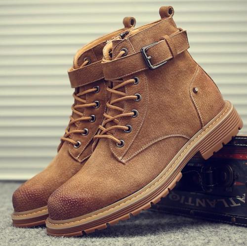Vintage wild high-desert desert tooling Martin boots