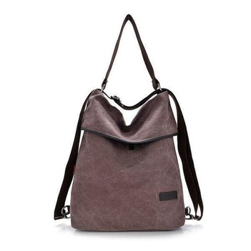Casual Canvas Shoulder Bag Crossbody Bag Outdoor Backpack
