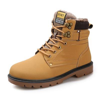 Winter Fur Warm Casual Footwear Men Boots