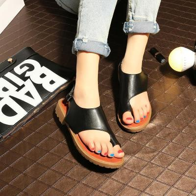 Simple Women Flip-flop Flat Casual Beach Sandals