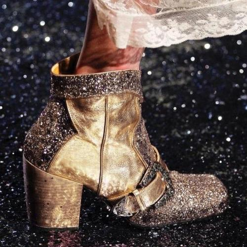 SPARKLING GLITTER SPRING/FALL BOOTS