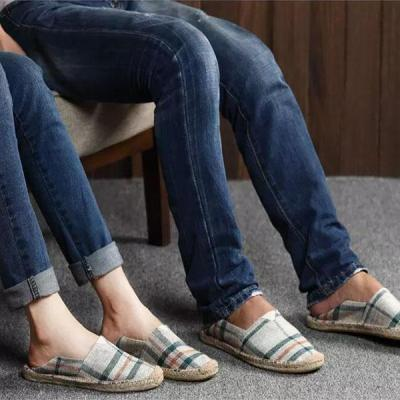 Women Breathable Canvas Shoes Slip-on Espadrilles Loafers Flats Shoes