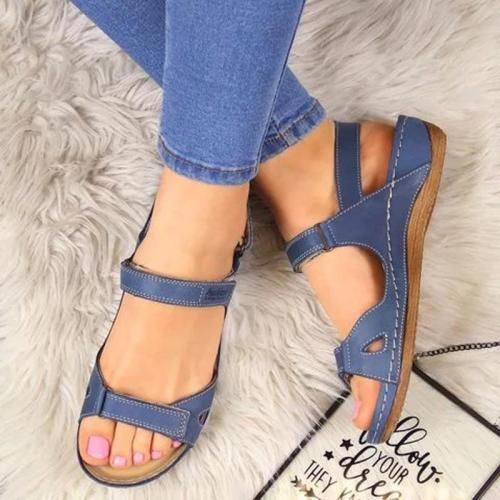 Beach shoes women sandals comfortable flat casual sandals