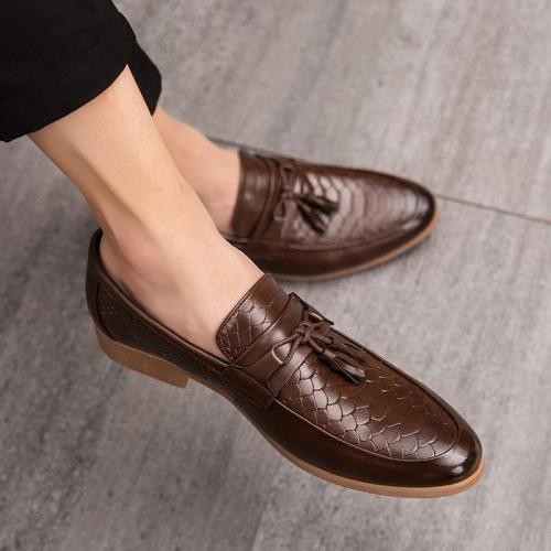 British Pointed Toe Casual Shoes