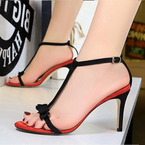 Sexy High Heel Suede Summer Sandals