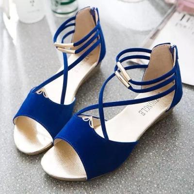 fashion Women zipper sandals Shoes woman footwear sandals Gladiator Casual
