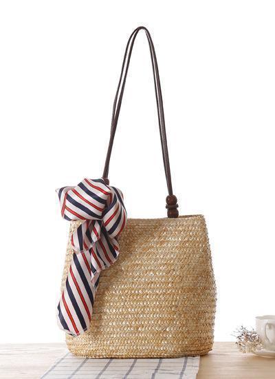 2019 New Style Straw Handbags Retro Shoulder Bags