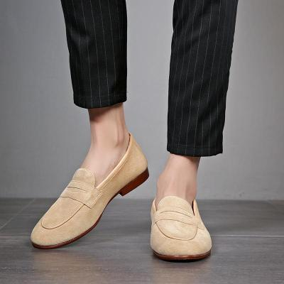 Autumn Slip on Suede Leather Casual Shoes