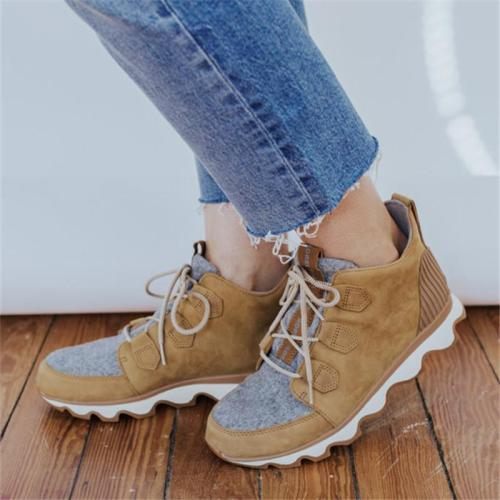 Casual Comfy Daily Lace-up Sneaker