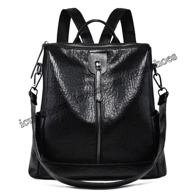Backpack Women's 2020 New Fashion Versatile Backpack Large Capacity Leisure Travel Bag