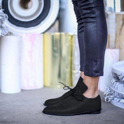 Women PU Loafers Slip On Casual Comfort Shoes