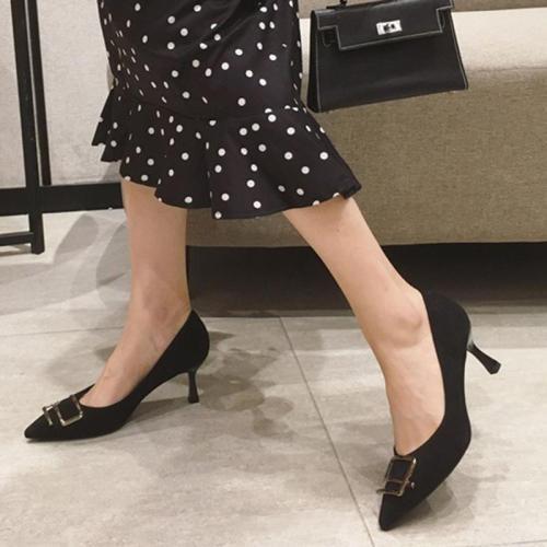 Stiletto Heel Suede Date Elegant Heels