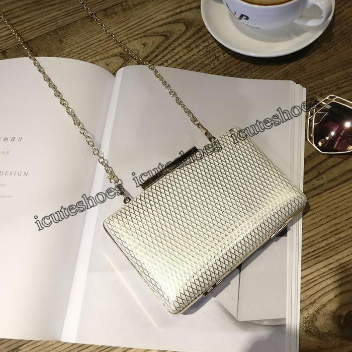 Mini Dinner Chain Small Bag with Shoulder Slant