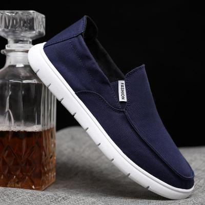 Men's Solid Color Casual Breathable Flat Shoes