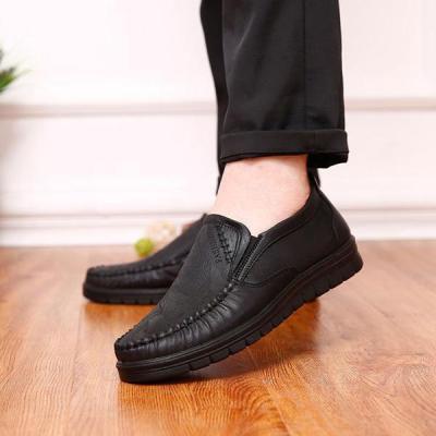 Mens Fashion Anti Slip Stitching Slip on Flat Casual Shoes