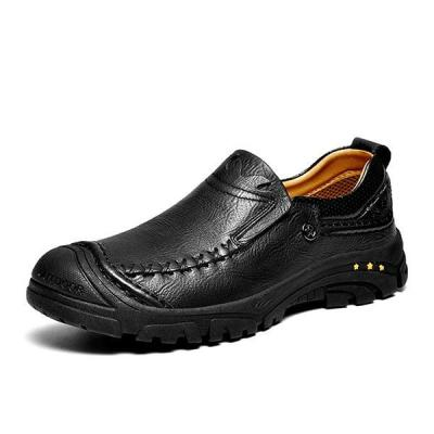 Men's Casual Soft Comfortable Slip-on Lace-up Flats