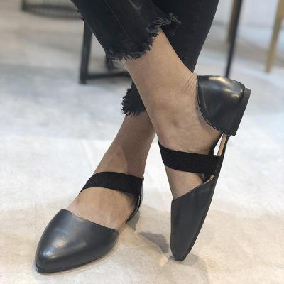 Spring New Women's Shoes Round Head Low Top Shallow Mouth Flat Bottom Comfortable Shoes