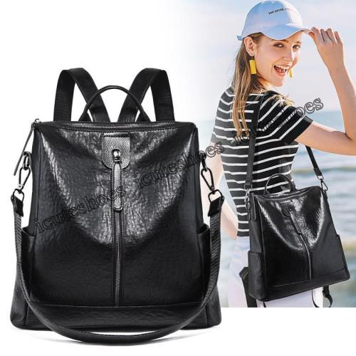 Backpack Women's 2020 New Fashion Versatile Backpack Large Capacity Leisure Travel Bag